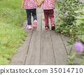 手牽手 姊妹 雙胞胎 35014710