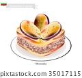 Homemade Moussaka, A Popular Dish of Bulgaria 35017115