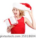 woman christmas gift 35018604