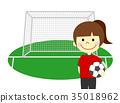 足球 足球進球 人 35018962