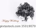 Happy Wedding wreath celebration 35019070