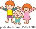跳舞的孩子 35021789