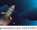 火箭 宇宙飞船 空间 35022903