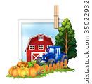 scene, farm, farming 35022932