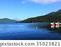 盛世湖蘆之湖和富士山 35023821