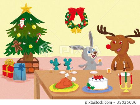 動物聖誕節 35025036