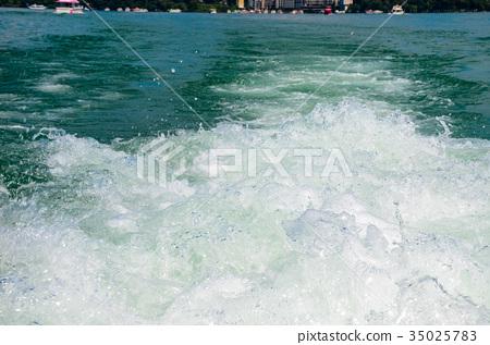 水浪 浪花 噴濺 35025783