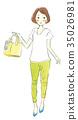 購物女性 35026981