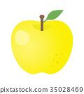 apple, yellow, fruit 35028469