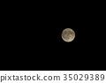 滿月 月夜 月亮 35029389