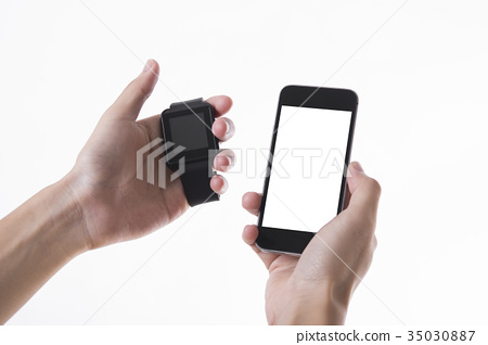smart watch and smart phone technology 35030887