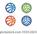 Basketball logo icon 35031824