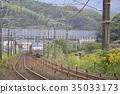 貨運列車 交通 鐵路圖片 35033173