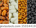 Beans - collection of different varieties 35034419