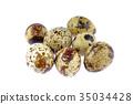 Quail eggs 35034428