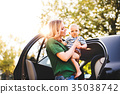 car baby vehicle 35038742