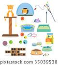 kitten toy vector 35039538