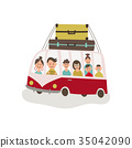 vector, flat, travel 35042090