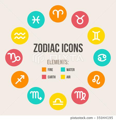 Zodiac signs 35044195