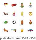 germany icon set 35045959