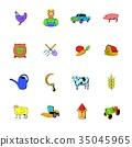 farm, agriculture, icon 35045965