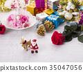 聖誕節圖像(聖誕老人和馴鹿) 35047056