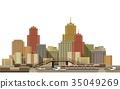 城鎮 城市 建築 35049269