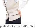 一位女士抱怨腰痛 35050263