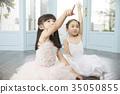 朋友,孩子,兄弟姐妹,芭蕾舞 35050855