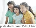 소녀, 순수, 어린이 35051342