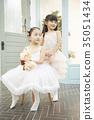 朋友,孩子,兄弟姐妹,芭蕾舞 35051434