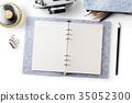 桌子 辦公桌 筆記本 35052300