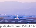 飞机 机场 跑道 35054737