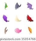 types,wings,vector 35054766