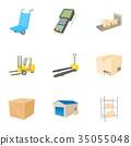 store, icon, vector 35055048