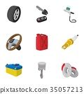 car, icon, vector 35057213