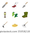 farming, icon, vector 35058218