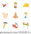 repair, tools, icon 35058511