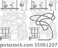 Bus maze 35061207