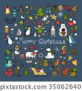 一组 一套 圣诞节 35062640