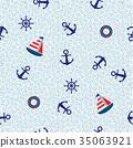 錨 帆船 船 35063921