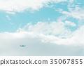 天空 蓝天 蓝蓝的天空 35067855