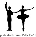 ballerina ballet couple 35071523