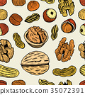 nut, pattern, raw 35072391
