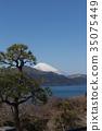 從箱根昂石公園看到的富士山 35075449