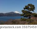 從箱根昂石公園看到的富士山 35075450