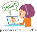 english, conversation, person 35075917