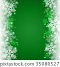 雪背景 35080527