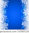 雪背景 35080528