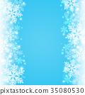 雪背景 35080530